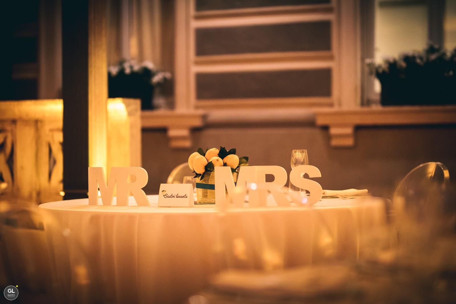 Idee per tavolo degli sposi estivo