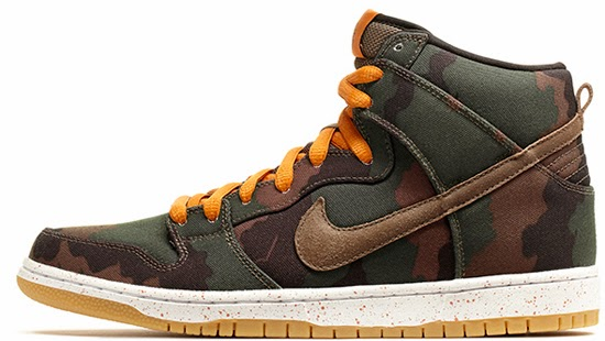 on sale 9597e 6c9be ... ajordanxi Your 1 Source For Sneaker Release Dates Nike Dunk High ...  New Nike Dunk High SB Fiveoneo Camo Black Olive Khaki Sunset ...