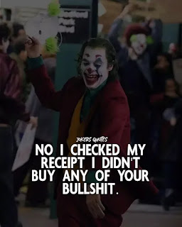 Joker quotes with image - theshayariquotes