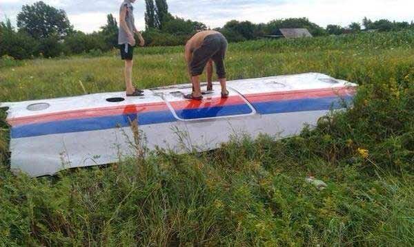 Malaysia Airlines flight MH17 crashes in Ukraine