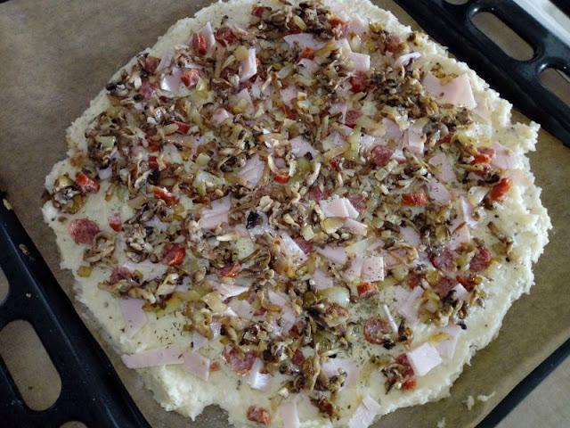 pizza na ziemniaczanym spodzie pizza na ziemniaczanym ciescie pizza ziemniaczana dietetyczna pizza pizza fit pizza na cienkim ciescie