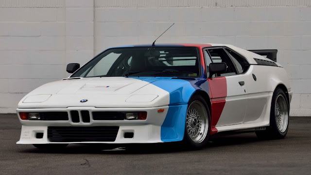 BMW M1 1970s German classic supercar