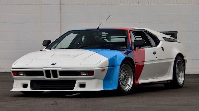 BMW M1 1970s German classic supercar