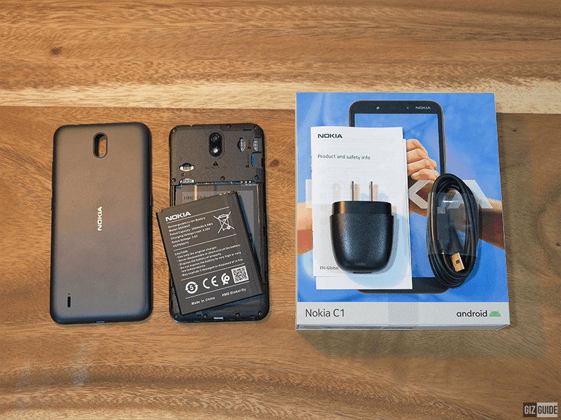 Nokia C1 Unboxing and First Impressions