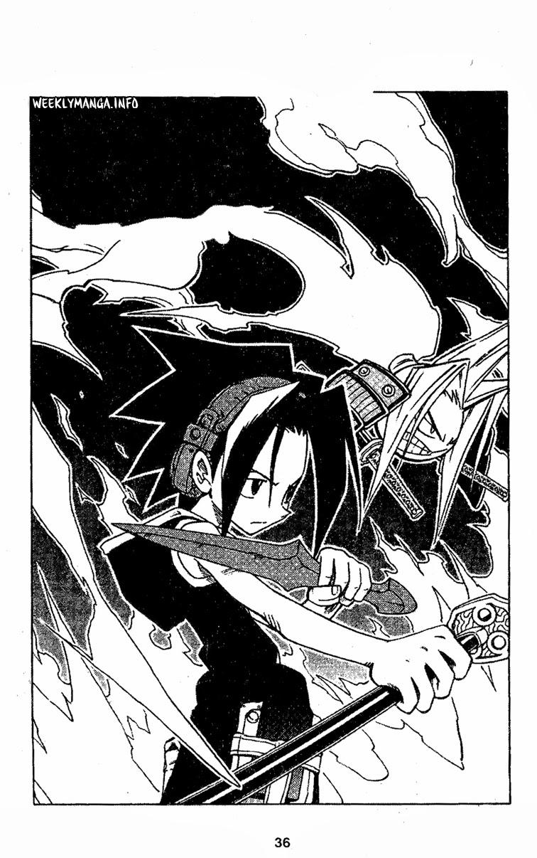 Shaman King [Vua pháp thuật] chap 211 trang 4