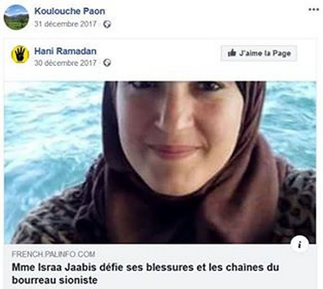 Taous Hammouti apprécie beaucoup Hani Ramadan