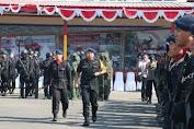 Kapolda Sulsel Pimpin Upacara HUT Brimob Ke-73 di Makassar