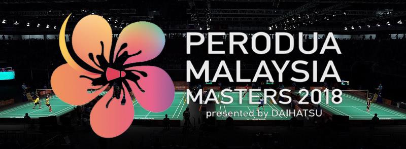 Badminton Malaysia Masters 2018