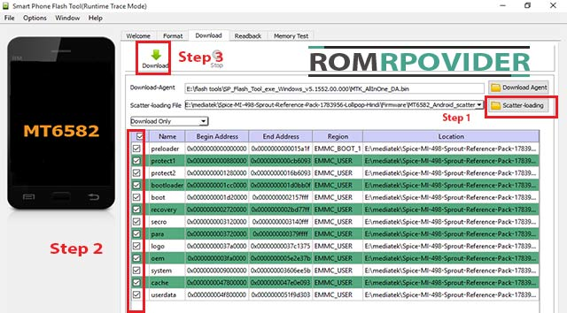 Sp-flash-tools How to Install official Stock ROM Winmax Tiger X3 Root