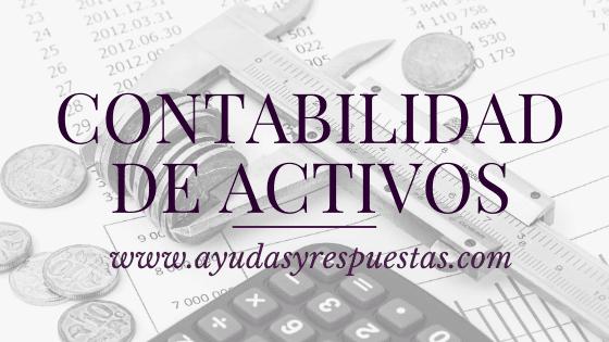 contabilidad de activos