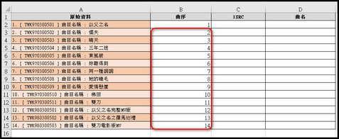Excel小技巧:Ctrl + E分割擷取儲存格資料