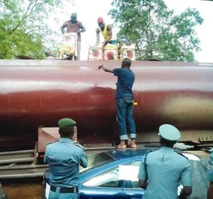 Petrol Tanker Loaded With 589 Bags Of Rice Intercepted By Customs