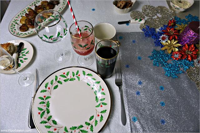 Nuestra Mesa de la Cena de Nochevieja