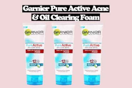 Review Garnier Pure Active Acne dan Oil Clearing Foam