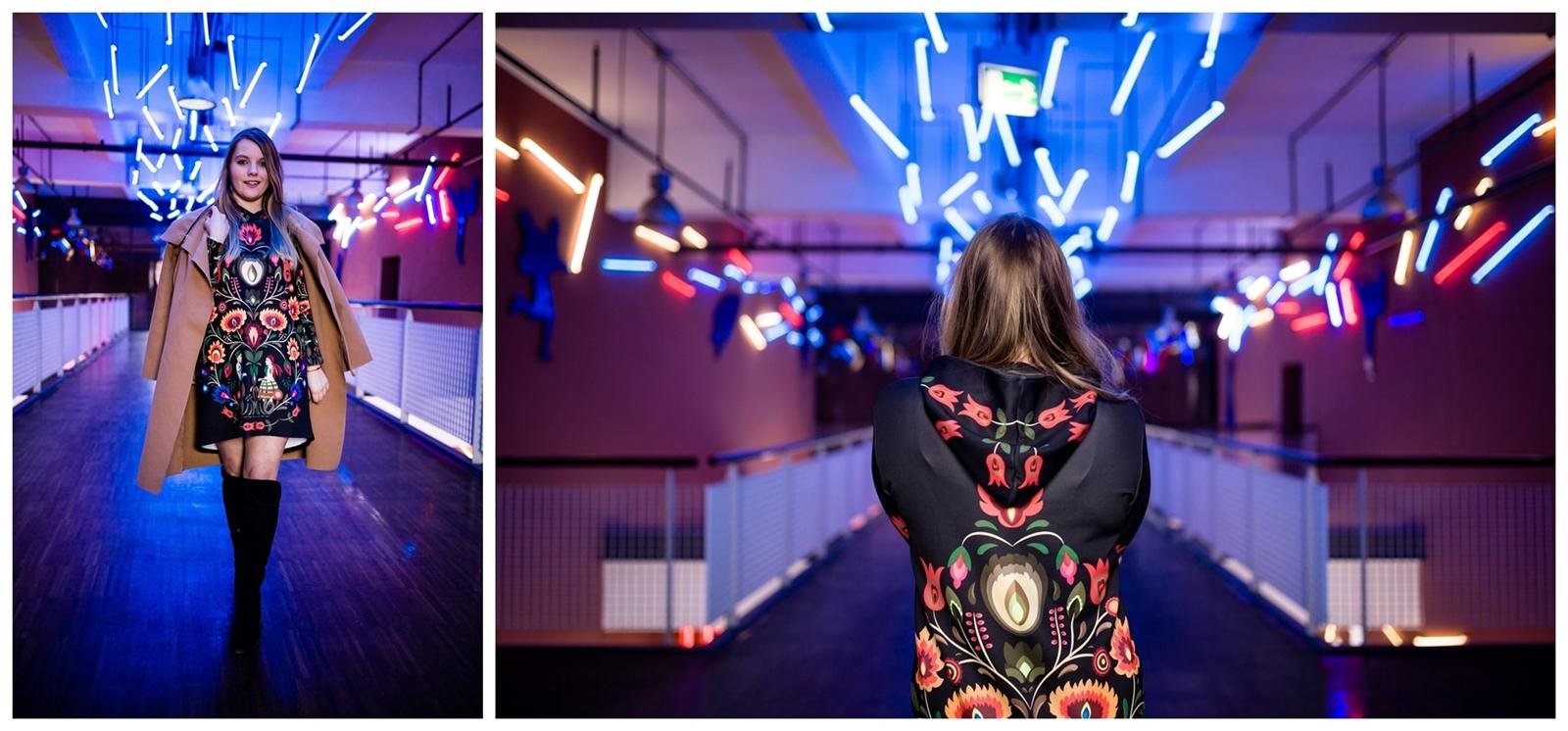 8 folk by koko recenzje opinie jakość sukienka bluza z motywem łowickim kodra folkowe ubrania motywy eleganckie folkowe dodatki kodra łowicka góralskie róże stylizacja polska blogerka łódź moda melodylaniella