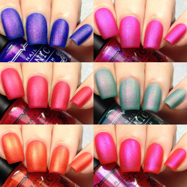 Tonic Polish-Matte Brights