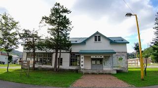 上砂川町・悲別駅(旧上砂川駅)