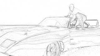 Fast and Furious coloring pages free and downloadable coloring.filminspector.com