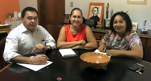 DEPUTADO JOÃO CHAMON FAZ AVALIAÇÃO DA PARCERIA COM APAE E OBRA KOLPING, EM MARABÁ