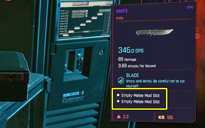 Cyberpunk 2077: Weapon / Armor Mods - How Do I Replace Them?