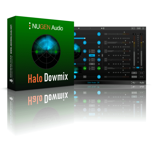 NUGEN Audio Halo Downmix v1.1.4 Full version