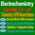 Chemistry Class 11 Notes | Electrochemistry | Chapter Twelve