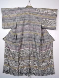 前田仁仙の更紗のお着物です。