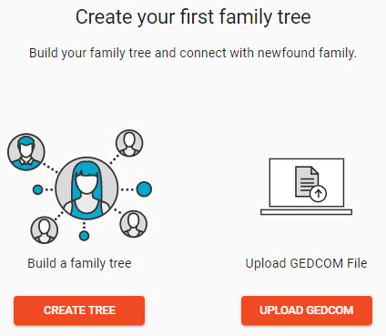 add family tree to FTDNA account