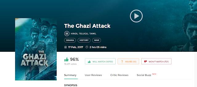 The Ghazi Attack 2017 Download Hindi Movie in HD 720p avi mp4 3gp hq free