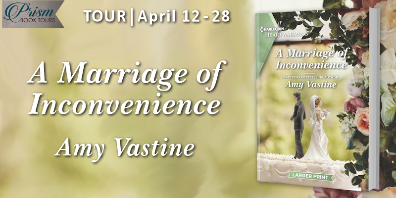 We're launching the Book Tour for A MARRIAGE OF INCONVENIENCE by Amy Vastine!