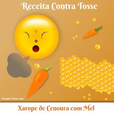 Receita Contra Tosse: Xarope de Cenoura com Mel