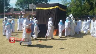 SD Muhammadiyah 2 Bojonegoro Belajar Manasik Di Hari Tasrik