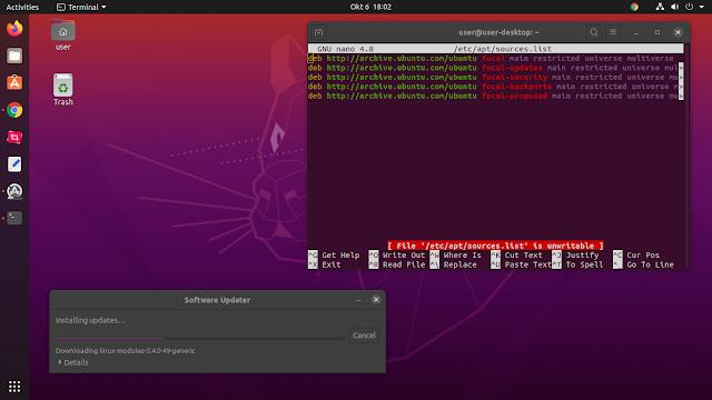 Pengalaman menggunakan Sistem Operasi Linux