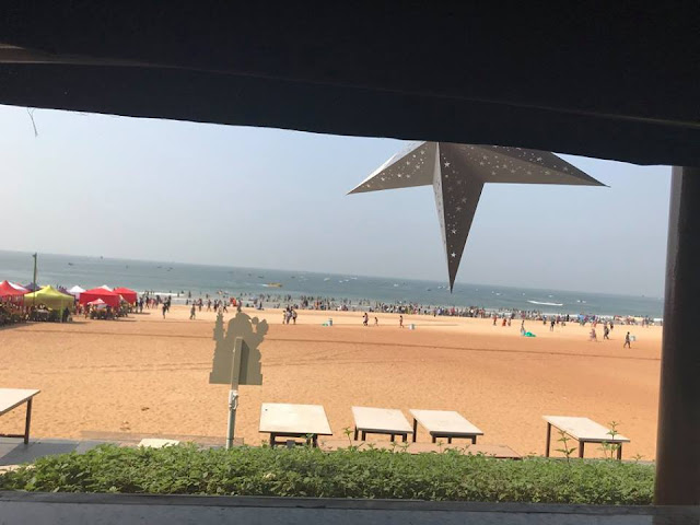 Photo of the Calangute Beach