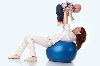 Pregnancy Exercises With Fitness Ball