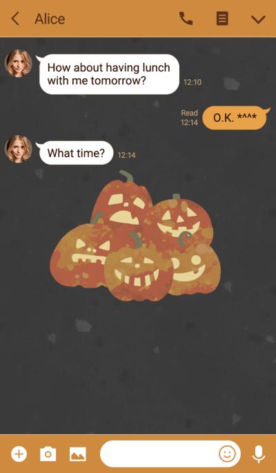 Order pumpkin^