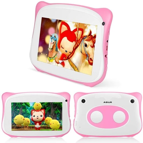 Review ASIUR QuadCore 16GB+2GB RAM Android Kids Tablet