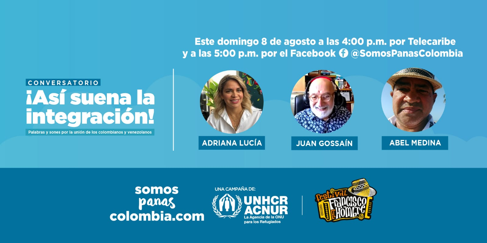 https://www.notasrosas.com/ 'Así Suena la Integración', conversatorio que realizará Festival Francisco 'El Hombre'