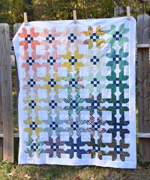 Fat Eighth Fruitcake Quilt - Free Pattern