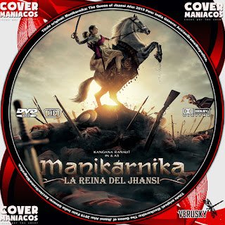 GALLETA MANIKARNIKA LA REINA DEL JHANSI - MANIKARNIKA THE QUEEN OF JHANSI 2019[COVER DVD]