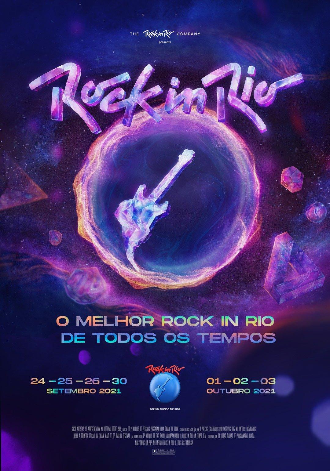 Rock in Rio 2021: bandas confirmadas e programação completa