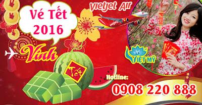 Vé máy bay tết đi Vinh hãng Vietjet Air