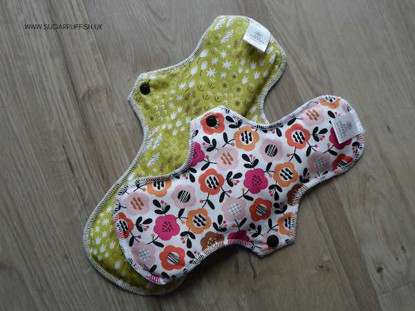 Review Eco Dreams Cloth Pads for Periods
