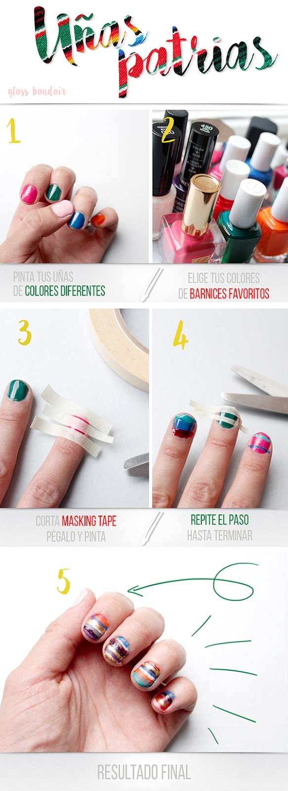 tutorial uñas mexicanas