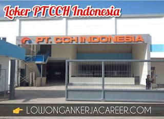 Lowongan Kerja PT CCH Indonesia Terbaru 2020