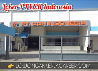 Lowongan Kerja PT CCH Indonesia