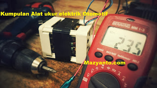 Alat ukur elektrik ampere meter