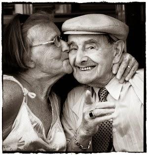 Funny old couple anniversary joke