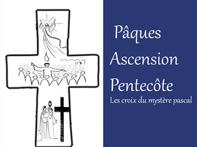 ouvrir le déroulement la croix du mystere pascal