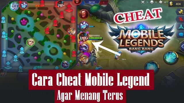 Cara Cheat Mobile Legend Agar Menang Terus